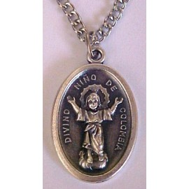 Divino Nino - Divine Child Jesus Medal Necklaces